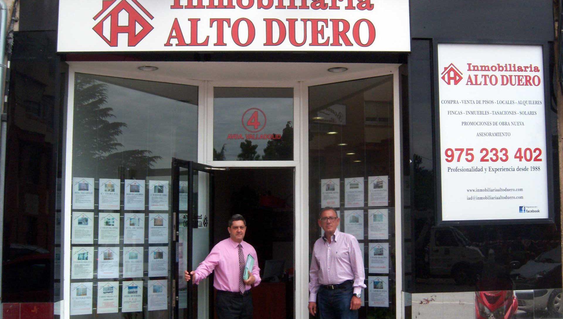 Bienvenido a inmobiliariaaltoduero.com