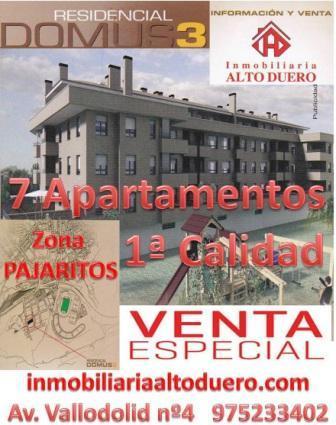 Residencial DOMUS3 7 Apartamentos Venta ESPECIAL